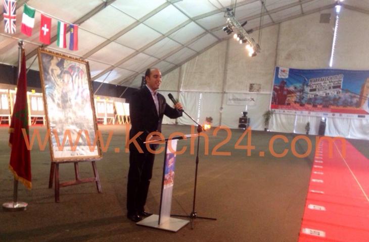 مراكش: وزير الشباب والرياضة يفتتح بطولة العالم للرماية بالنبال + صور