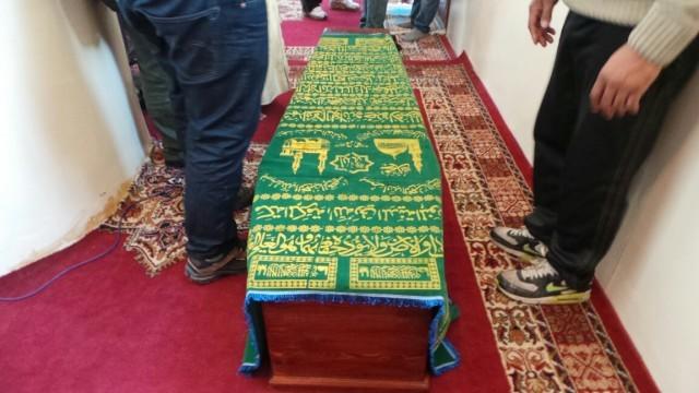 بالصور: تشييع جثمان القيادي الإتحادي الراحل أحمد الزايدي