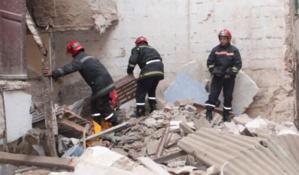 عاجل : انهيار منزل بحي الملاح بمراكش