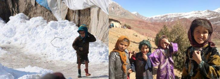 فعاليات مدنية تطلق حملة للتبرع بالملابس لفائدة سكان جبال الحوز بنواحي مراكش