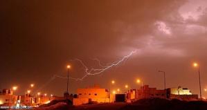 نشرة انذارية: تساقطات مطرية قوية و زخات رعدية اليوم الجمعة بهذه المناطق