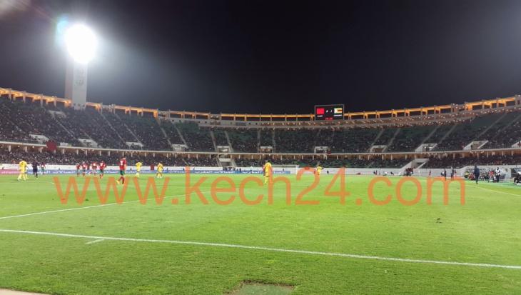 المنتخب المغربي لكرة الكرة القدم ينهي سنة 2014 بفوز ودي على المنتخب الزمبابوي