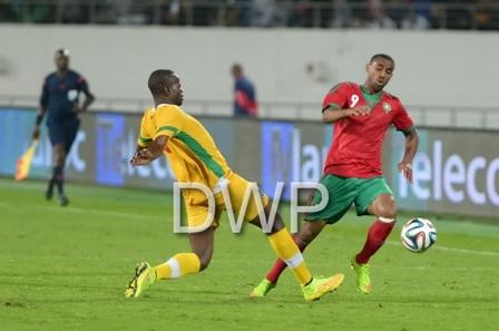 ودية المنتخب المغربي ونظيره الزيمباوي في صور خاصة