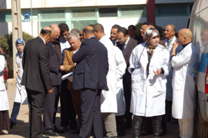 مصعد يتسبب في كسر رجل ممرض بمستشفى السلامة بقلعة السراغنة ضواحي مراكش