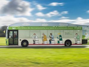 انطلاق أول حافلة تسير بالفضلات البشرية بهذه الدولة