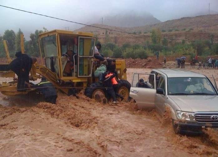 الفيضانات تجرف 30 منزلا نواحي مراكش والسلطات تستعين بمآذن المساجد لإنذار الساكنة