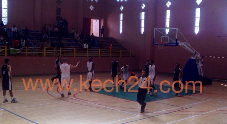 الكوكب المراكشي لكرة السلة يحقق فوزا هاما بمراكش+ صور