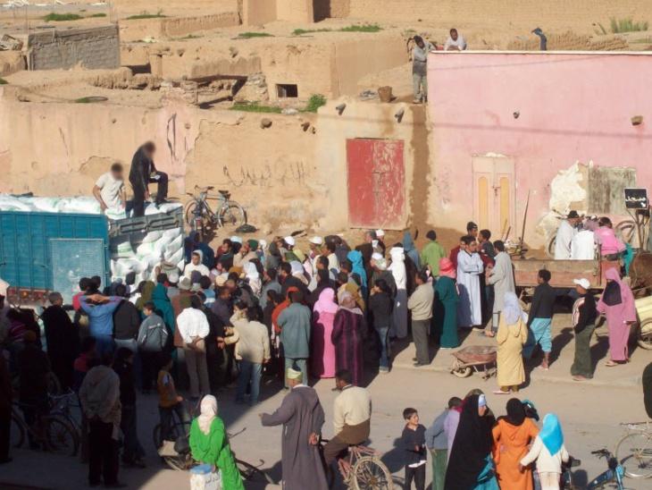 سكان سيد الزوين بنواحي مراكش