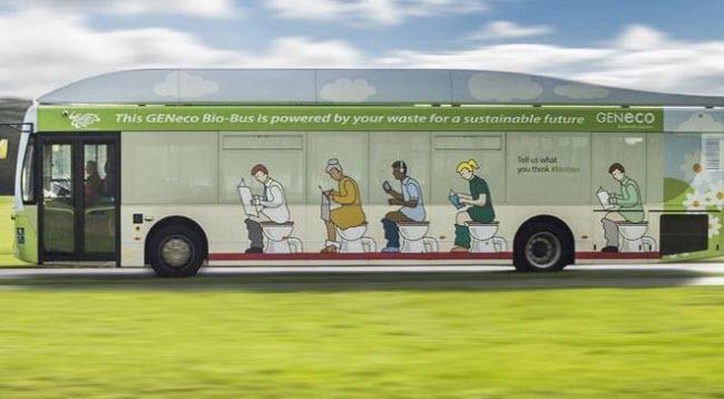 الحافلة التي تشتغل بـ