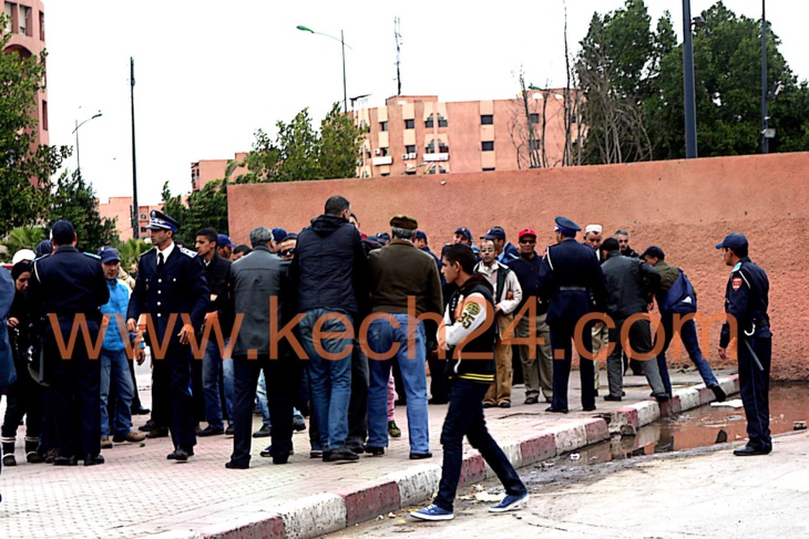 السلطات ترحل عشرات المكفوفين بشكل قسري وتمنع نشطاء بالجمعية المغربية لحقو الانسان من دخول تراب مراكش