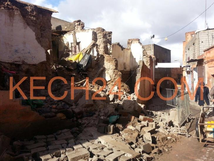 وتستمر الانهيارات بمنازل المدينة القديمة لمراكش + صور حصرية
