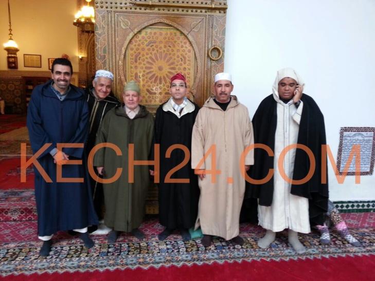 دعوات بالشفاء العاجل للملك محمد السادس بضريح ابي العباس السبتي بمراكش + صور حصرية