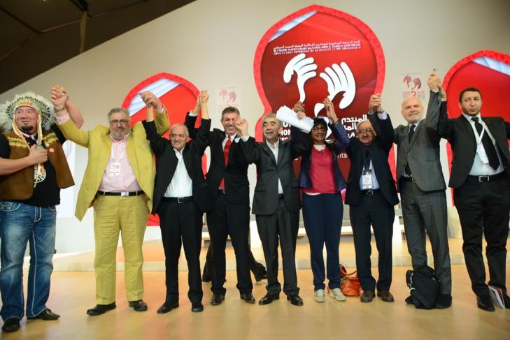 هكذا تابع أزيد من 14 مليون شخصا عبر العالم اشغال الدورة الثانية للمنتدى العالمي لحقوق الانسان بمراكش