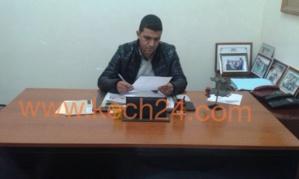 هذا هو النائب الثامن لرئيس مقاطعة سيدي يوسف بنعلي الذي خلف نوار