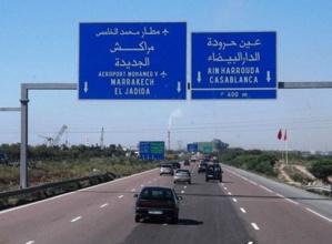 الأشغال توقف حركة السير على الطريق السيار بين مراكش والبيضاء...هافين واش من نهار
