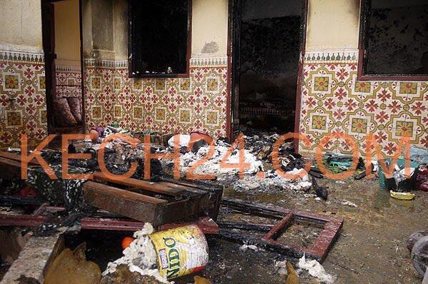 حصري: اندلاع حريق بمنزل بحي الداوديات بمراكش و