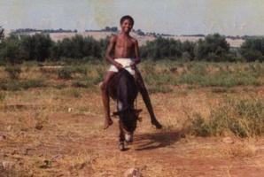 صورة لمدافع المنتخب المغربي لكرة القدم
