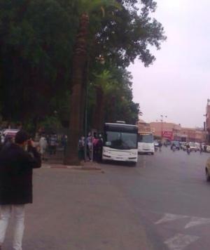 خطير: عصابات متخصصة في السرقة بالخطف تهدد مستعملي الحافلات بسيدي ميمون مراكش