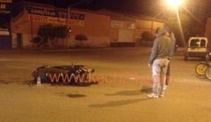 إصابة عشريني من جنسية أجنبية بجروح خطيرة في حادثة سير بمراكش + صورة حصرية