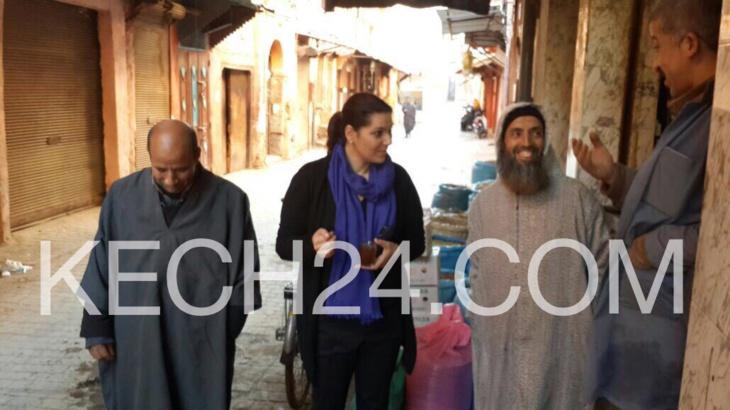 لهذا السبب حلت المنصوري عمدة مراكش بحي الملاح + البوم الصور