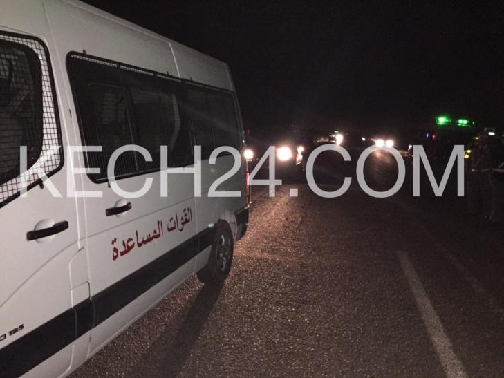 عبد السلام بيكرات والي الجهة ينجح في احتواء غضب سكان دوار تازرت الذين قطعوا الطريق الإقليمية 270