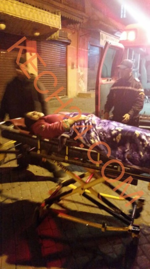 فضيحة: سائحة أجنبية تنقذ إمرأة أدركها المخاض بحي القنارية بعدما لفظها مستشفى المامونية بمراكش + صور حصرية