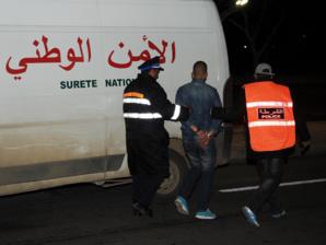عناصر الأمن تعتقل عسكريا بحي جليز بمراكش..ها علاش