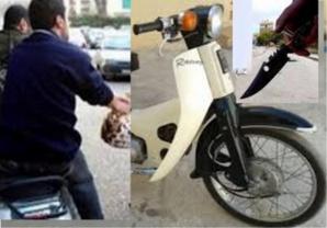 عاجل: عصابات مدججة بالسيوف على متن دراجات