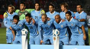 هذه هي تشكيلة منتخب الأوروغواي التي ستواجه أسود الأطلس وديا يوم 28 مارس الجاري