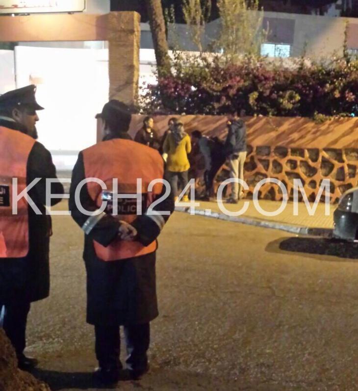 عاجل: وفاة شرطي من فرقة الدراجين في حادثة سير بمراكش + صورة حصرية