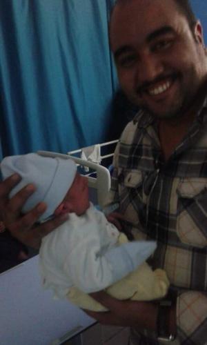 تهنئة لعائلة بنفلاح بمناسبة المولود الجديد