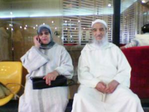 زوجة مرشد جماعة العدل والإحسان الراحل عبدالسلام ياسين في ذمة الله