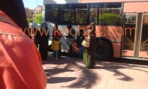 عاجل: إصطدام بين حافلة للنقل الحضري وسيارة خفيفة تربك حركة المرور بكليز