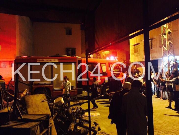 عاجل : حريق بإحدى المخابز العصرية بحي الداوديات بمراكش يخلف خسائر مادية جسيمة + صور حصرية