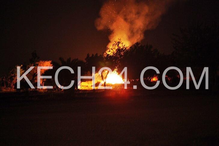 عاجل ليلة النيران : حريق آخر بغابة الشباب بمراكش + صورة حصرية