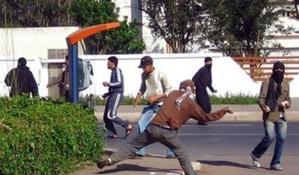 مواجهات بين طلبة ومواطنين تستنفر عناصر الأمن بمراكش