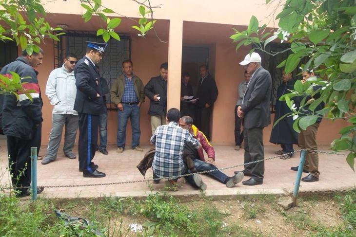 خطير: الإعتداء بالضرب على مستشار جماعي بإبن جرير و