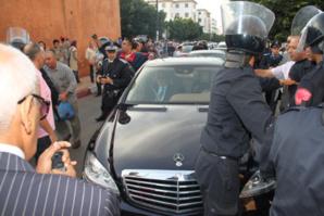 موكب رئيس الحكومة عبد الإله بنكيران يتعرض لحادث سير بالرباط