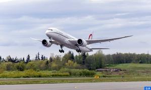 """الخطوط الملكية المغربية تتسلم ثاني طائراتها من نوع """"بوينغ 787 دريملاينر"""""""
