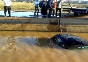مصرع رجل وزوجته غرقا في قناة الروكاد