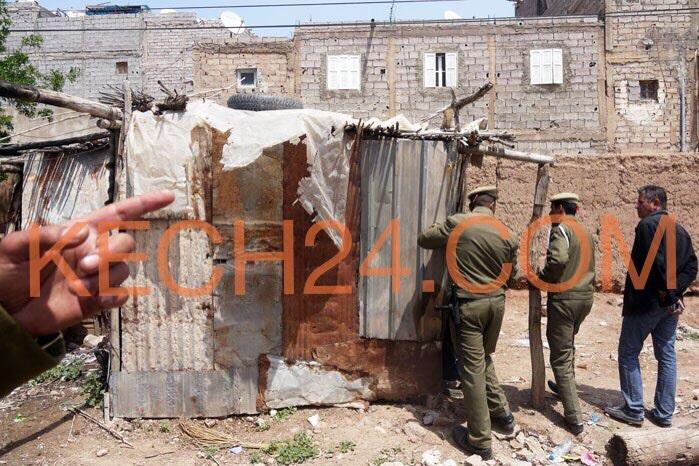 سلطات مراكش تهدم أزيد من 100 براكة بمقاطعة النخيل + صور