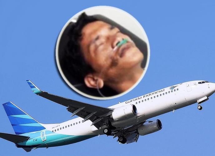 فيديو: شاب اندونيسي يختبئ داخل عجلة طائرة في طريقها الى جاكارتا