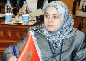 زوجة الوزير الشوباني تخطب له الوزيرة سمية بنخلدون رسميا