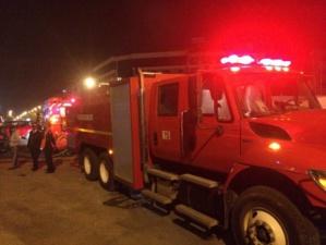 عاجل : اندلاع النيران بإحدى عمارات عملية الضحى بمراكش