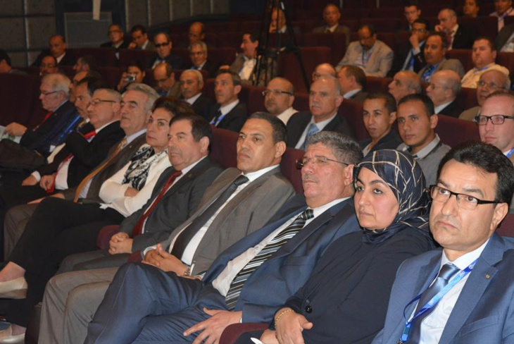 انطلاق فعاليات المؤتمر الدولي للإتحاد المتوسطي للمساحة الطوبوغرافيين بمراكش بحضور والي الجهة بيكرات