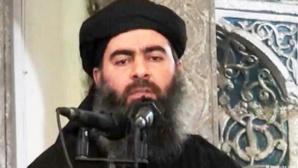 الغارات الامريكية تصيب القيادي الداعشي البغدادي