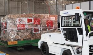 هبة ملكية لغينيا كوناكري تتكون من 15 طنا من الأدوية والمستلزمات الطبية لمساعدتها على مواجهة وباء إيبولا