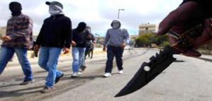 قطاع طرق مدججين بأسلحة بيضاء يفتكون بالمارة ويسلبونهم ممتلكاتهم بشارع محمد الخامس بمراكش