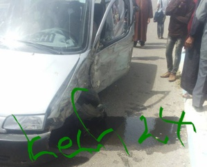 مقتل شخصين وإصابة 7 آخرين بجروح خطيرة في اصطدام سيارتين بنواحي الصويرة