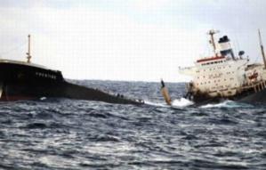 تسرب نفطي يهدد السواحل المغربية إثر غرق سفينة روسية محملة بالوقود